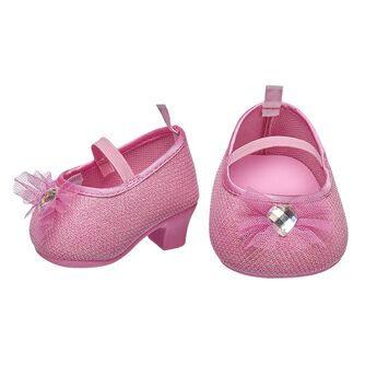 FURbulous! These pink bear-sized high heels have a sparkly finish and a cute bow with a gem in the center. Personalize a furry friend to make the perfect gift. Free shipping on orders over $45. Shop online or visit a store near you!