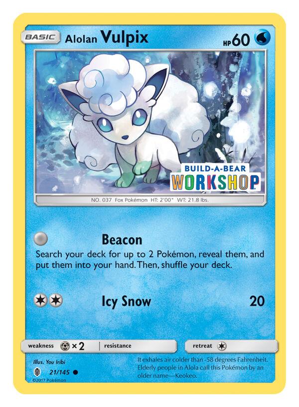 Build-A-Bear Workshop Exclusive Pokémon TCG Card, , hi-res
