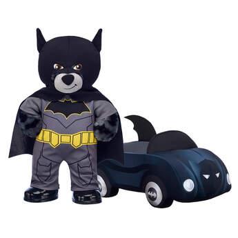 80th Anniversary Batman™ Stuffed Bear & Batmobile™ Set - Build-A-Bear Workshop®
