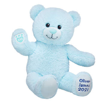 Online Exclusive Personalized Blue Baby Bear - Build-A-Bear Workshop®