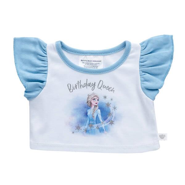 Disney Frozen 2 Birthday Queen T-Shirt - Build-A-Bear Workshop®
