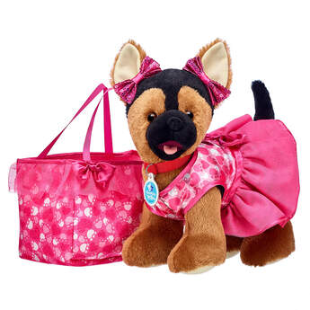 Promise Pets™ German Shepherd Pink Purse Gift Set, , hi-res