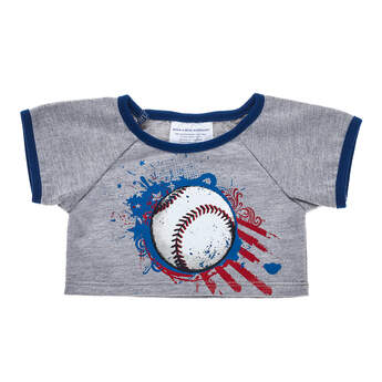 Baseball Graphic Tee - Build-A-Bear Workshop®