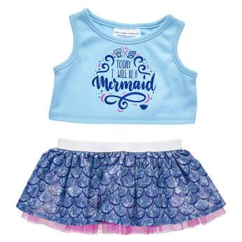 Mermaid Skirt Set 2 pc. - Build-A-Bear Workshop®