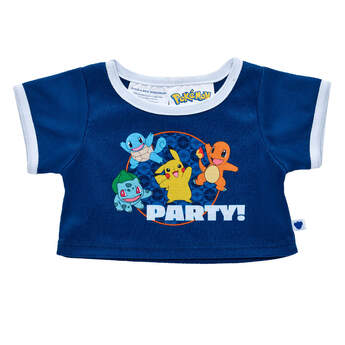 Pokémon Party T-Shirt - Build-A-Bear Workshop®