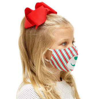 Child-Size Holiday Face Mask - Build-A-Bear Workshop®