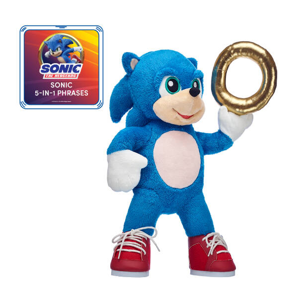 Deluxe Sonic the Hedgehog Gift Set with Sound, , hi-res