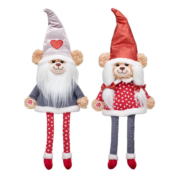 Online Exclusive Red Sparkle & Silver Shimmer Bear Gnome Gift Set, , hi-res