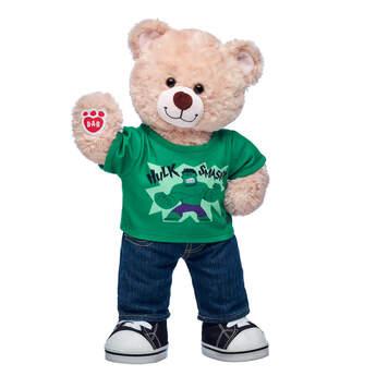 Happy Hugs Teddy Marvel Hulk Gift Set, , hi-res