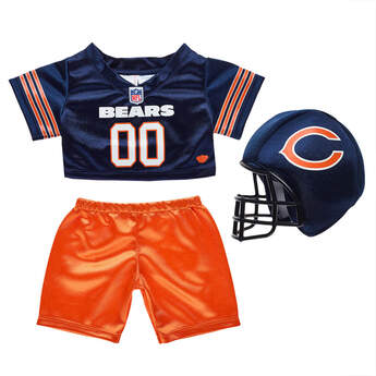 Chicago Bears Fan Set 3 pc. - Build-A-Bear Workshop®