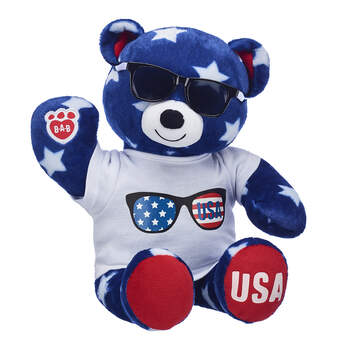 Online Exclusive Stars 'n' Stripes Bear USA Gift Set, , hi-res