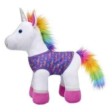 Rainbow Hair Don't Care T-Shirt, , hi-res
