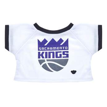 Go Kings! This furry friend sized ringer tee is the perfect choice for wearing to the big game. NBA and NBA team identifications are the intellectual property of NBA Properties, Inc. and the respective NBA member teams. © 2017 NBA Properties, Inc. All Rights Reserved.