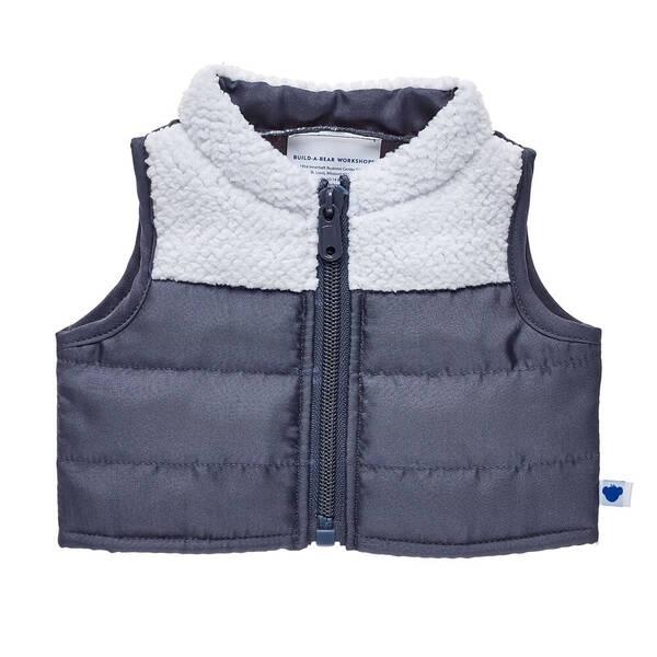 Grey Puffer Vest - Build-A-Bear Workshop®