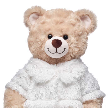 This faux fur coat for stuffed animals has glitter in the fur for an added special shimmer. Personalize a furry friend to make the perfect gift. Free shipping on orders over $45. Shop online or visit a store near you!