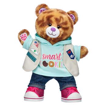 Girl Scouts® Coconut Caramel Cookie Bear Cadette/Senior/Ambassador Gift Set, , hi-res