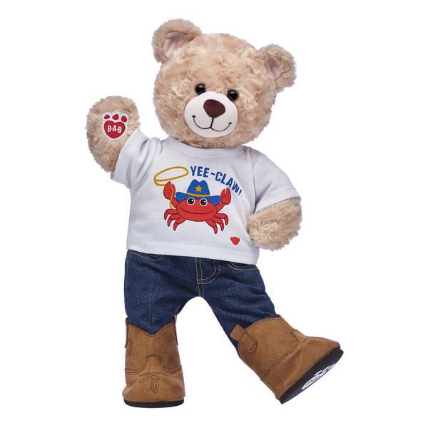 Online Exclusive Happy Hugs Teddy Yee-Claw Gift Set, , hi-res