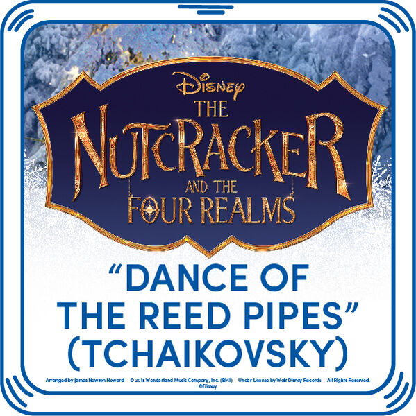"The fate of the Four Realms is uncertain, but adding this ""Disney Dance of the Reed Pipes"" song to your furry friend is a fun way to add some harmony to the holiday season! Dance and twirl all season long by adding this beautiful song to your furry friend. You'll hear the music when you press your teddy bear's paw!"