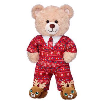 Happy Hugs Teddy Holiday Gift Set, , hi-res