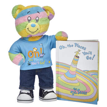 Online Exclusive Oh, the Places You'll Go! Bear & Book Gift Set, , hi-res
