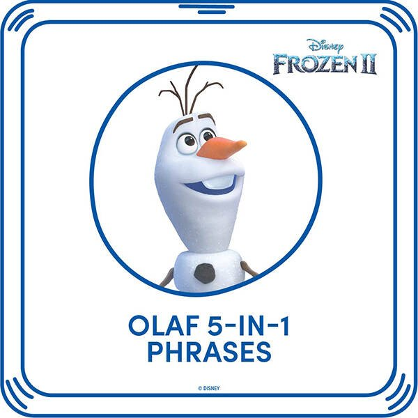 Disney Frozen 2 Olaf 5-in-1 Phrases - Build-A-Bear Workshop®