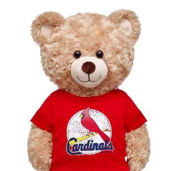 St. Louis Cardinals™ Red Graphic T-Shirt - Build-A-Bear Workshop®