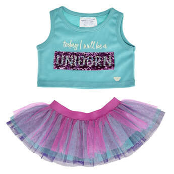 Mermaid Unicorn Tutu Set 2 pc. - Build-A-Bear Workshop®