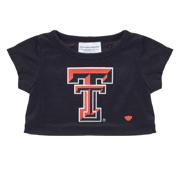 Black Texas Tech University T-Shirt, , hi-res
