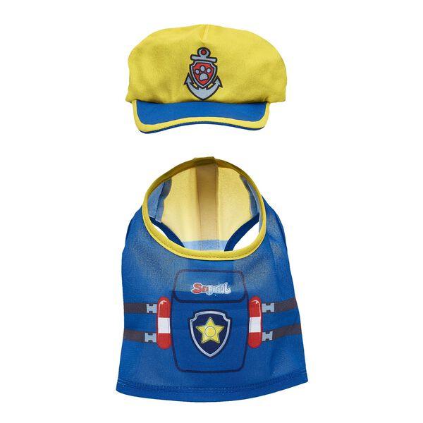 PAW Patrol Chase's Swim Vest & Hat Set 2 pc., , hi-res
