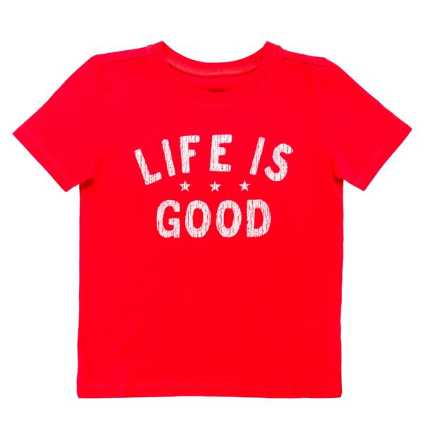 Red Life is Good® Kids 4T T-Shirt, , hi-res