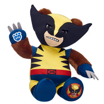 Online Exclusive Wolverine - Build-A-Bear Workshop®
