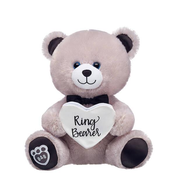Online Exclusive 10in Pre-Stuffed Ringer Bearer Bear - Build-A-Bear Workshop®