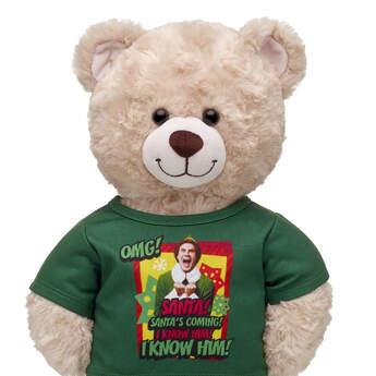 Online Exclusive Buddy the Elf™ Santa T-Shirt - Build-A-Bear Workshop®
