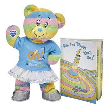 Online Exclusive Oh, the Places You'll Go! Bear & Book Graduation Gift Set, , hi-res