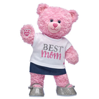 Online Exclusive Pink Cuddles Teddy Mother's Day Gift Set, , hi-res