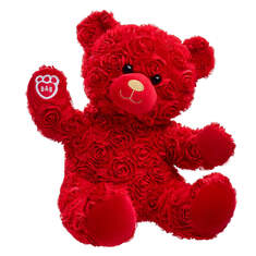 Online Exclusive Red Roses Bear - Build-A-Bear Workshop®