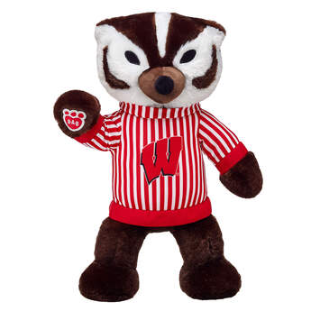 Cheer on the Badgers with the official mascot of the University of Wisconsin, Bucky Badger! Go Badgers!© 2016 University of Wisconsin