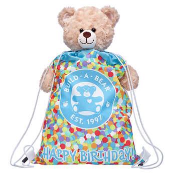 Happy Birthday Toy Bear Carrier - Build-A-Bear Workshop®