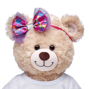 Honey Girls Colorful Stars Bow Headband - Build-A-Bear Workshop®