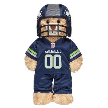Seattle Seahawks Fan Set 3 pc. - Build-A-Bear Workshop®