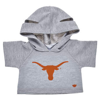 Go Longhorns! This bear-sized University of Texas at Austin hoodie is a great way to show your school spirit.