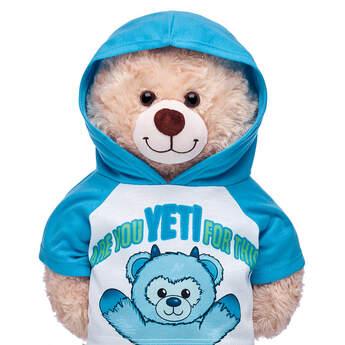 Online Exclusive Snow Monster Yeti Hoodie - Build-A-Bear Workshop®