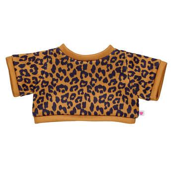 Online Exclusive Cheetah Print Sweater - Build-A-Bear Workshop®