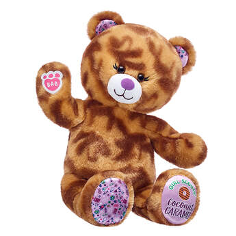 Coconut Caramel Cookie Girl Scouts® Bear - Build-A-Bear Workshop®