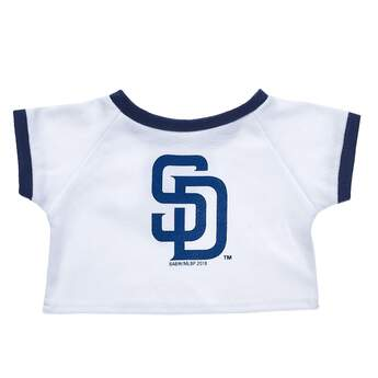 Make a grand slam of a gift for baseball fans with this San Diego Padres™ tee shirt for stuffed animals! Outfit a furry friend online to make the perfect gift. Free shipping on orders over $45. Make your own stuffed animal online with our Bear Builder or visit a store near you.