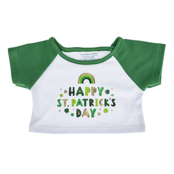 Online Exclusive Happy St. Patrick's Day T-Shirt - Build-A-Bear Workshop®