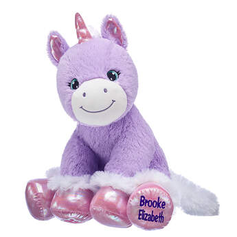 Online Exclusive Personalized Baby Unicorn - Build-A-Bear Workshop®