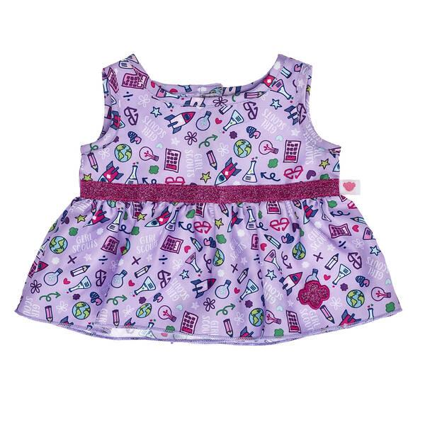 Girl Scouts® Purple Doodle Dress