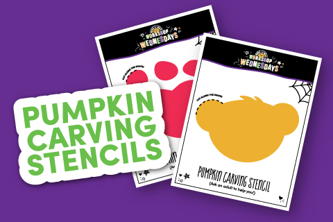 Pumpkin Carving Stencils - Activity Sheet Thumbnail