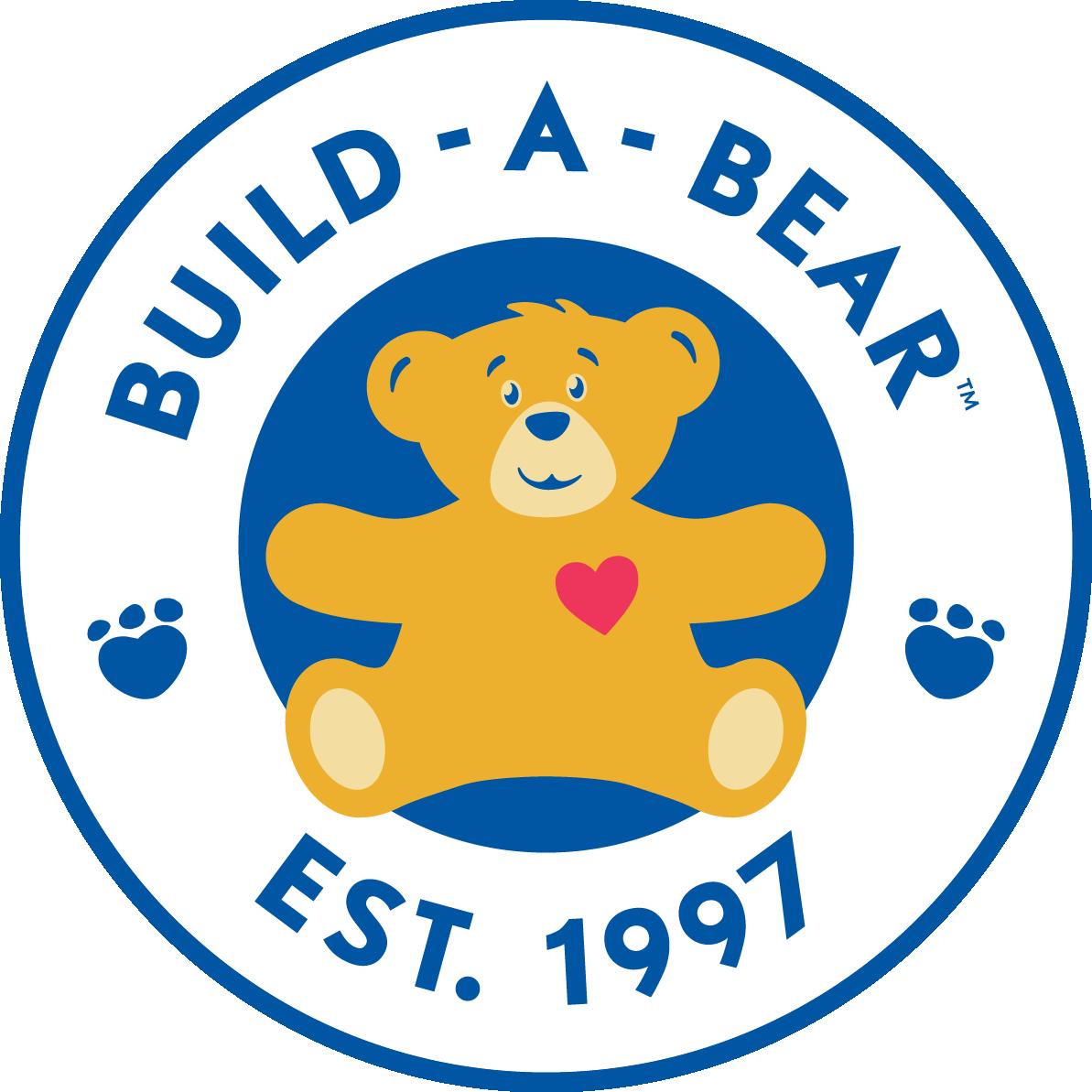 large size BUILD-A-BEAR EST. 1997 logo